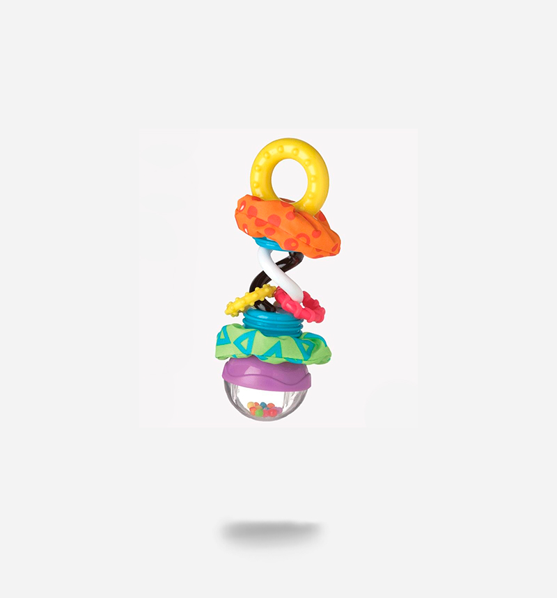 SUPER SHAKER TEETHER AND RATTLE by PlayGro