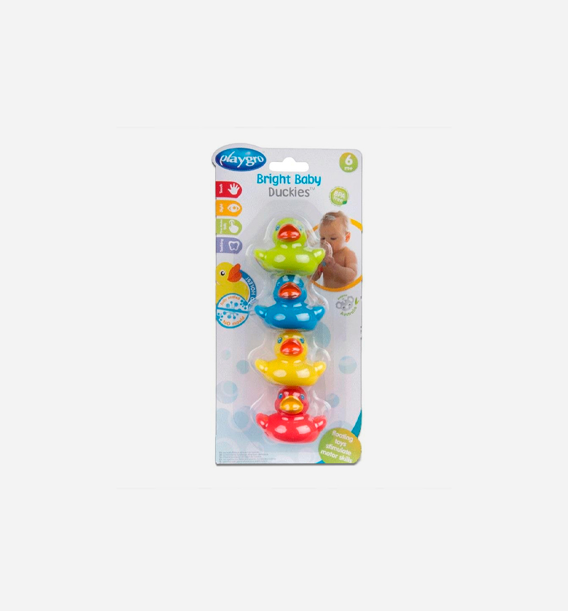 SET 4 PATITOS de PlayGro