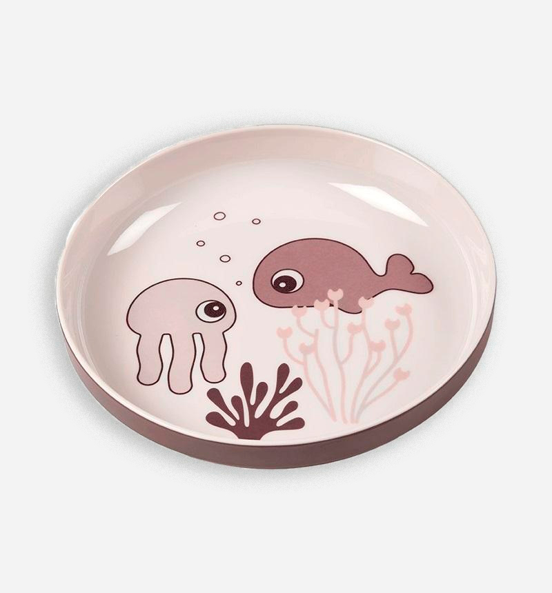 MINI PLATO YUMMY SEA FRIENDS de Donebydeer
