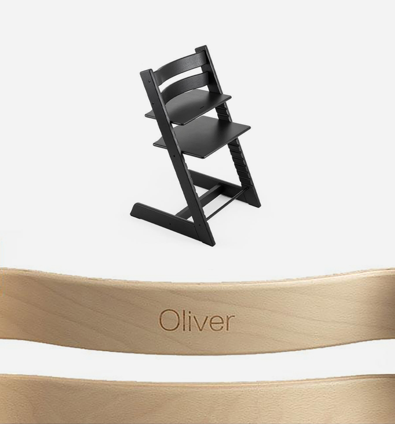 CUSTOMIZATION TRIPP TRAPP HIGH CHAIR OAK by Stokke