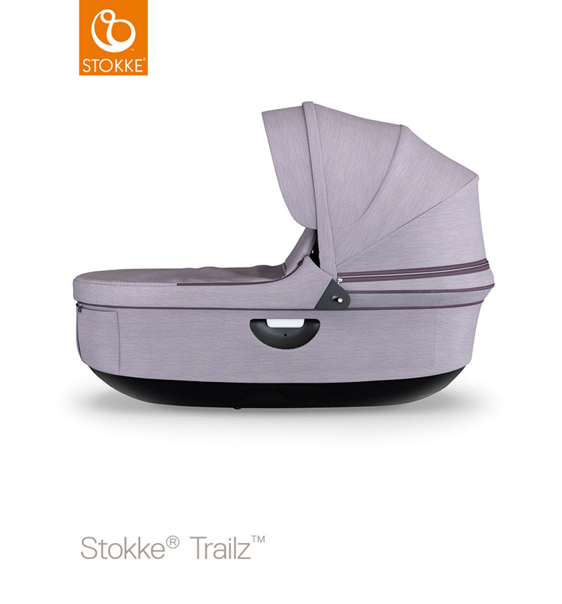 CAPAZO NEGRO STOKKE BRUSHED COLOR STROLLER