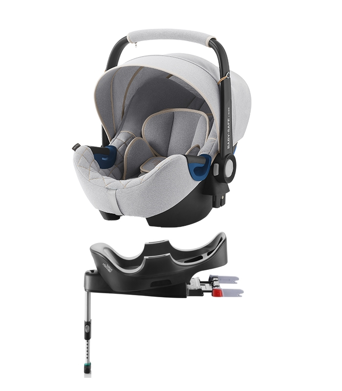 PACK CAR SEAT BABY SAFE I-SIZE NORDIC + BASE ISOFIX by BRITAX RÖMER