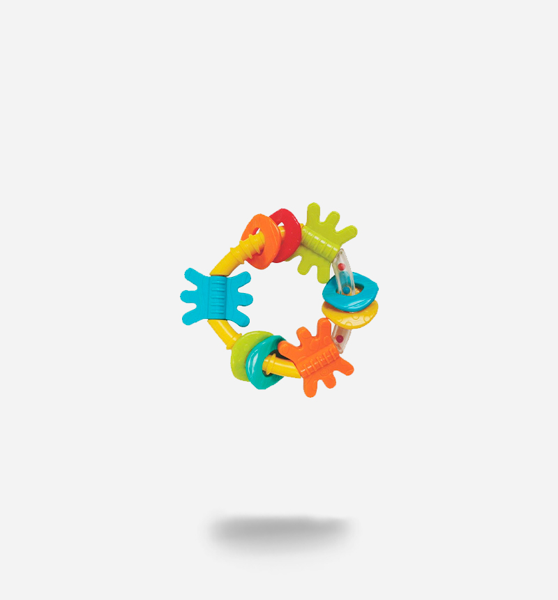 TEETHER WITH DIFFERENT TEXTURES by PlayGro