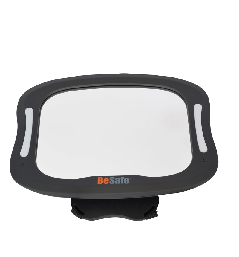 MIRROR XL WITH INTEGRATED LIGHTING by BeSafe