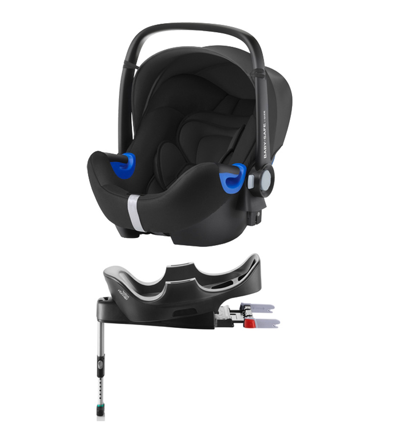PROMO PACK BABY SAFE I-SIZE CAR SEAT + BASE ISOFIX by BRITAX RÖMER