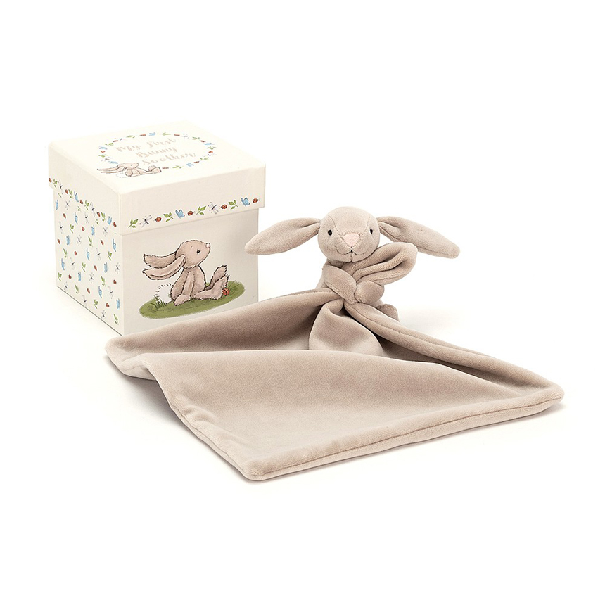 DOUDOU BUNNY WITH BOX by Jellycat