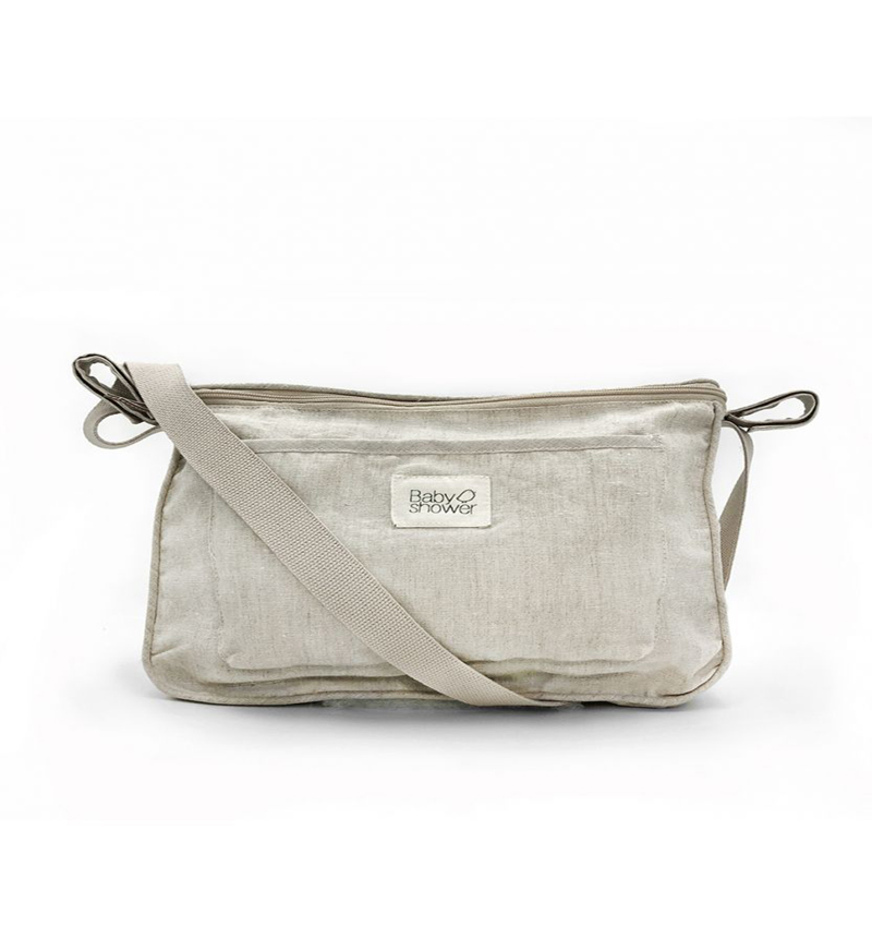 LINEN COCHECITO BAG of Baby Shower