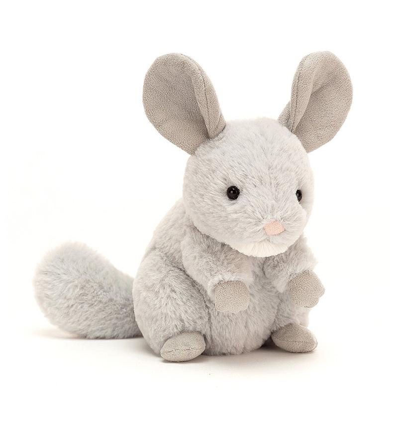 PLUSH CHEEKY CHINCHILLA by Jellycat