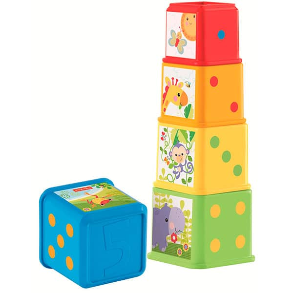 BLOQUES APILA Y DESCUBRE de Fisher Price
