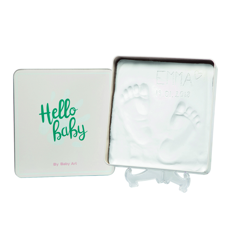 CAJA CON  HUELLA: MAGIC BOX de Baby Art