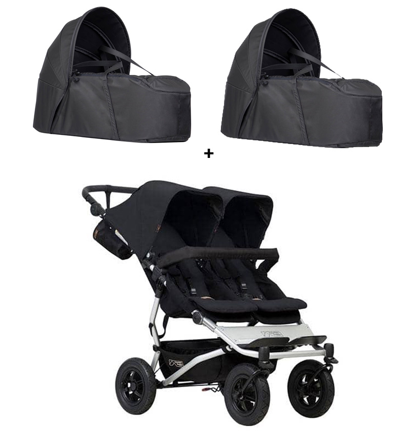 COCHECITO DUET 3.0 TWINS COCOONS Mountain Buggy