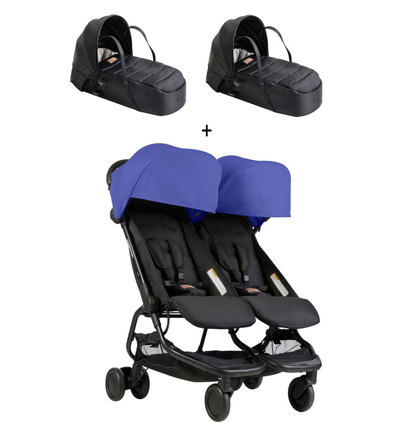 COCHECITO NANO DUO + CAPAZO de Mountain Buggy