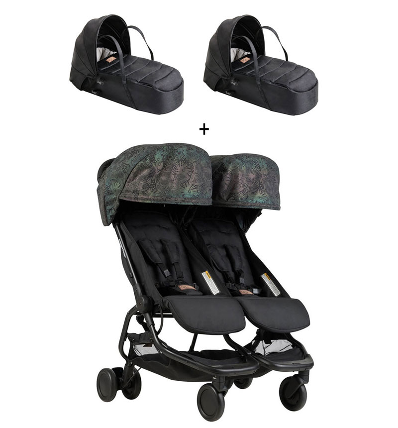 COCHECITO NANO DUO YEAR OF DOG + CAPAZO de Mountain Buggy
