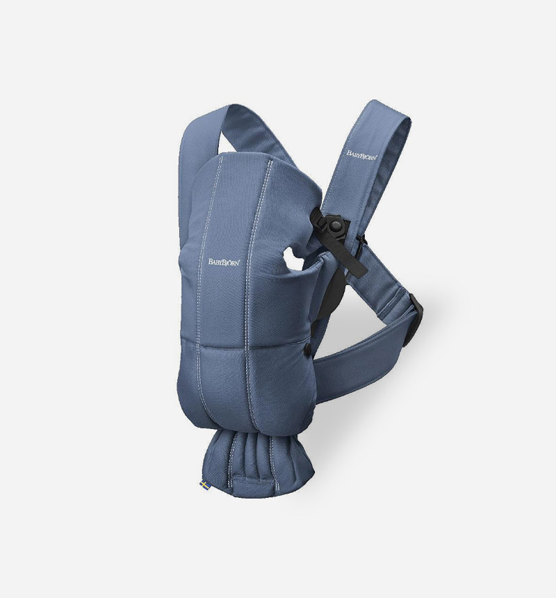 BABY BJÖRN MINI COTTON BABY CARRIER BACKPACK