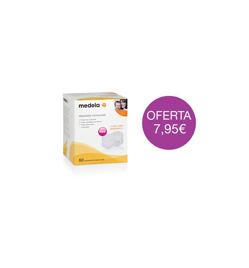 DISPOSABLE PADS 60U Medela