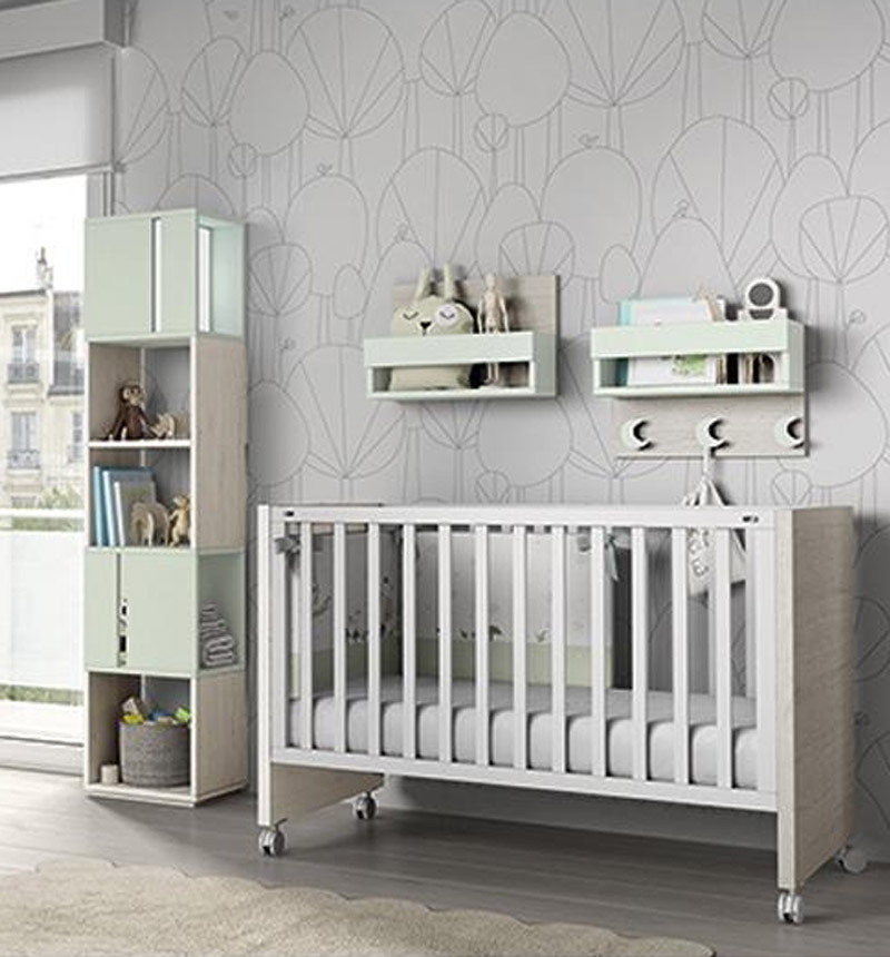 LUXOR COT 120x60 by Ros
