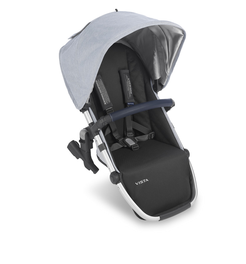 MELANGE SEAT Rumbleseat POUR VISTA UPPAbaby