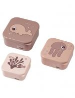 SET SNACK BOX SEA FRIENDS de Donebydeer