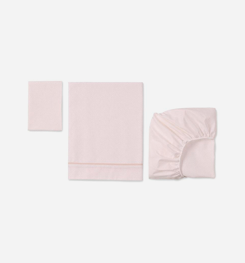 100% COTTON MINI COTTON SHEETS SET from Bonjourbébé