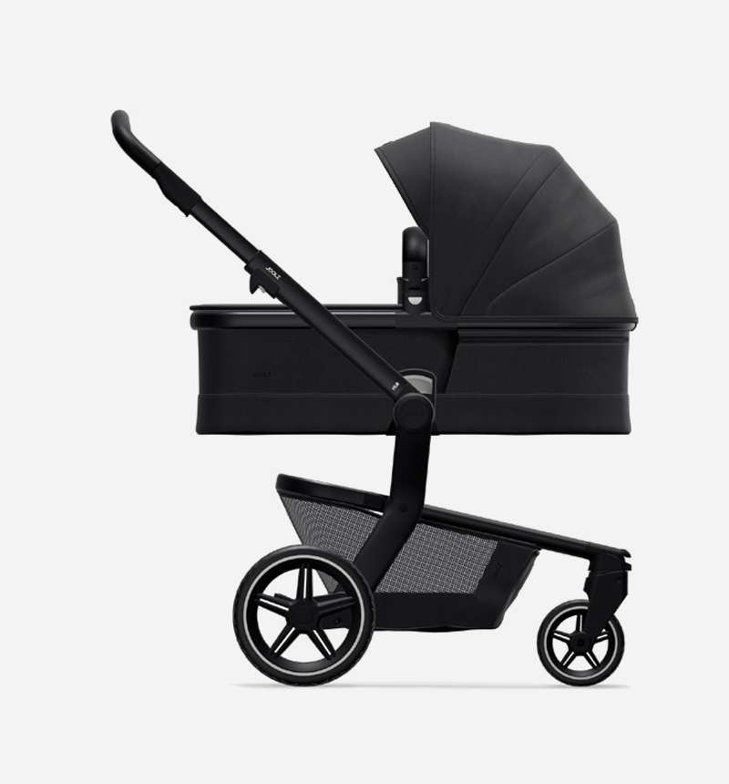 STROLLER AND BASKET JOOLZ HUB + BRILLIANT BLACK