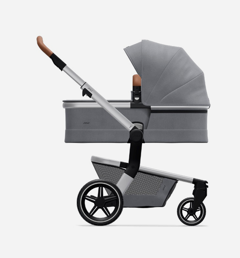 JOOLZ HUB + GORGEOUS GRAY STROLLER AND BASKET CHAIR