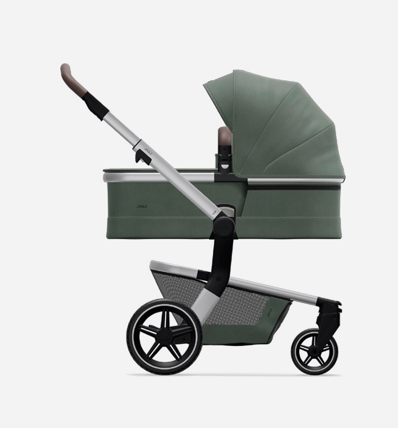 JOOLZ HUB + MARVELLOUS GREEN STROLLER AND BASKET