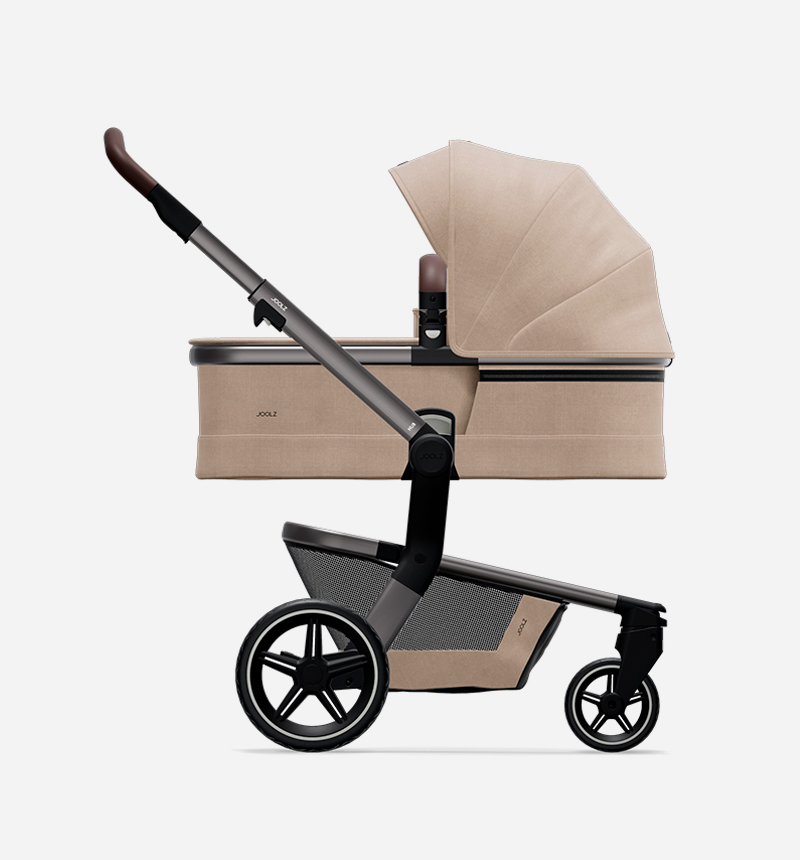 STROLLER AND BASKET JOOLZ HUB + TIMELESS TAUPE