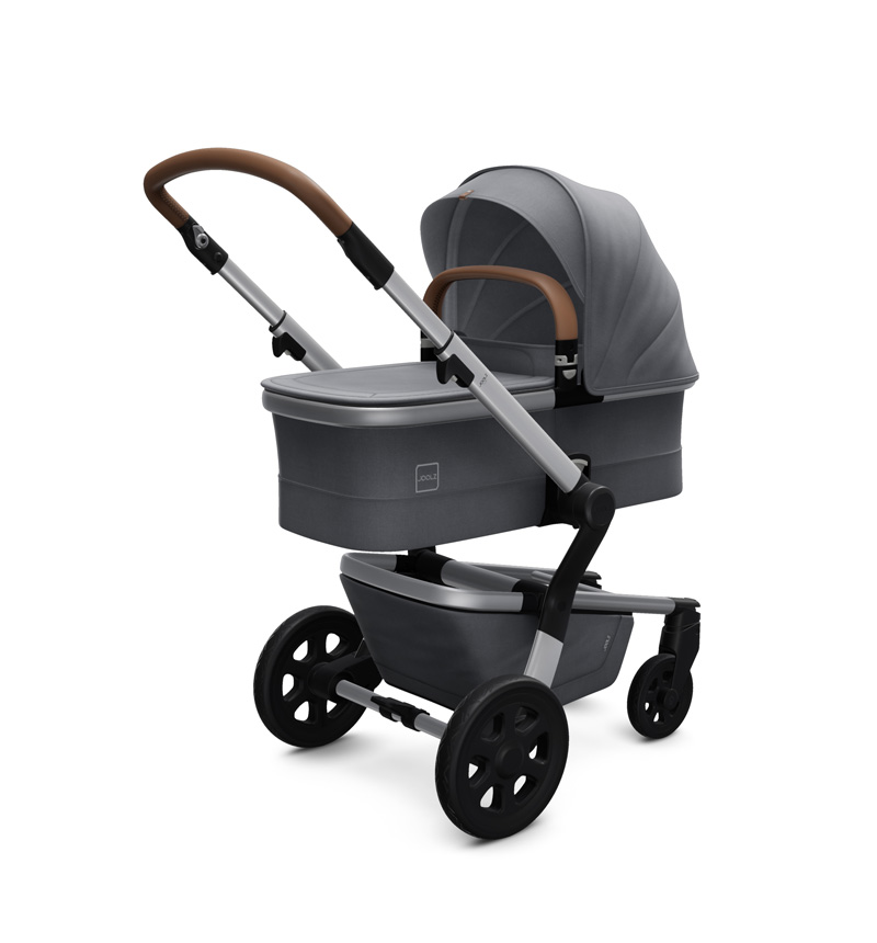JOOLZ HUB STROLLER AND GORGEOUS GRAY BASKET