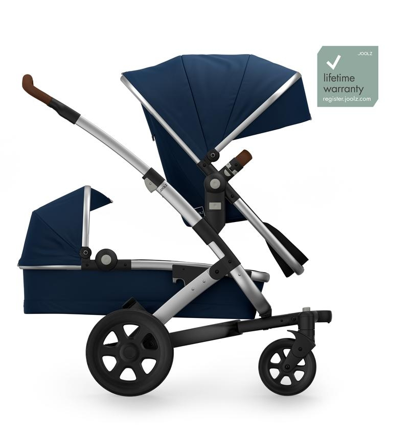 GEO2 DUO CLASSIC BLUE STROLLER by Joolz