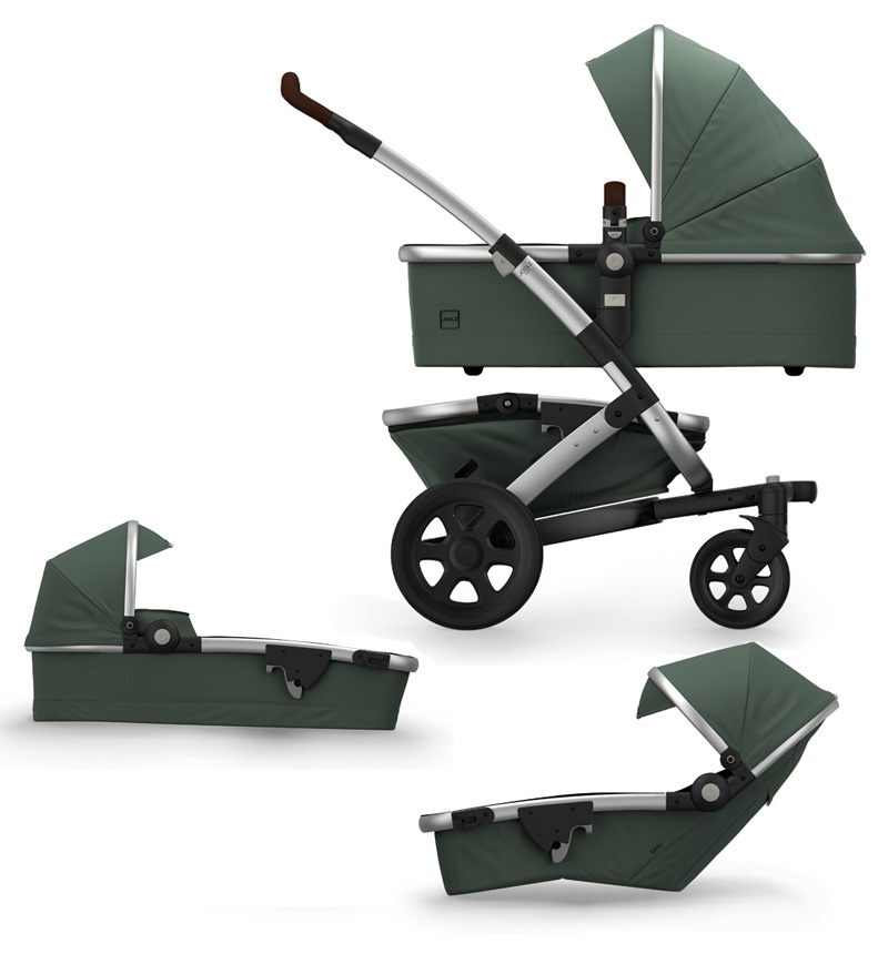 MARVELLOUS GREEN GEO2 DUO STROLLER by Joolz