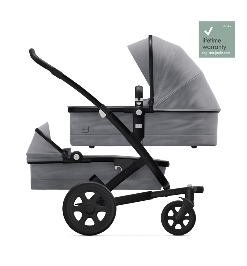 STROLLER GEO2 DUO SUPERIOR GRAY by Joolz