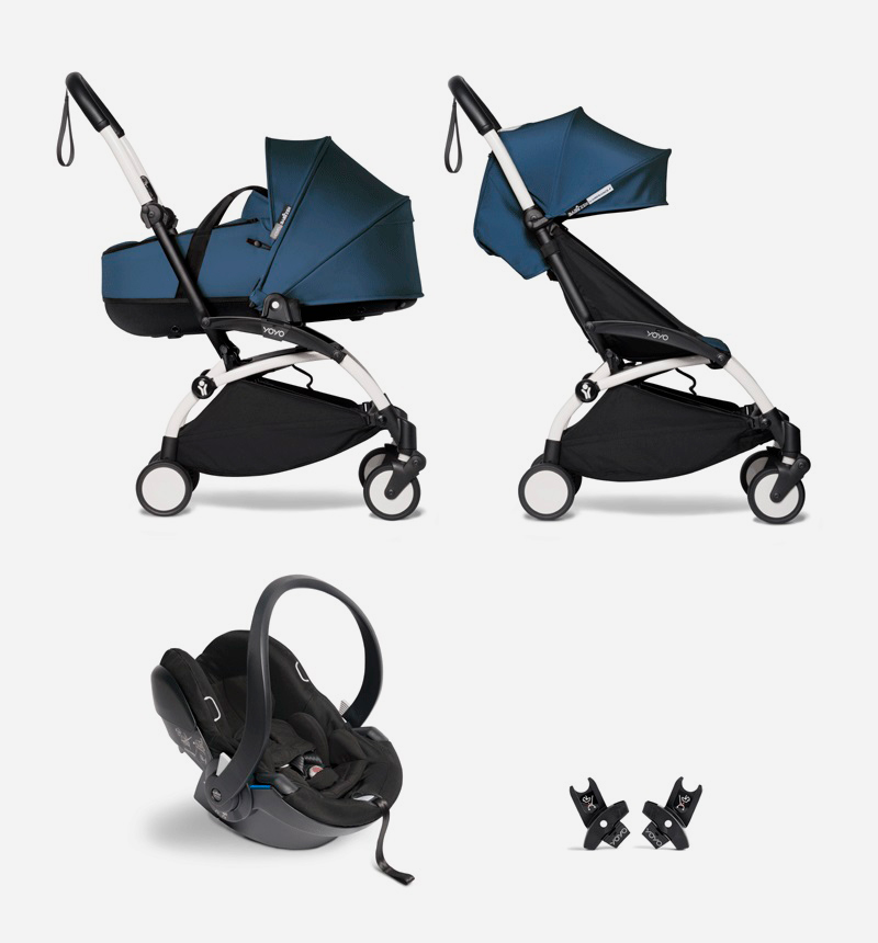 SILLA DE PASEO YOYO2 PACK BASSINET AIR FRANCE de BABYZEN